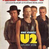 U2 -Magazine Best -Janvier 1988 -n°234 - U2 BLOG