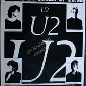 U2 -Affiche concert -Brielport - Belgique 1981 - U2 BLOG