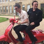 Noel Gallagher et Bono sur un scooter -29 mai 2017 - U2 BLOG