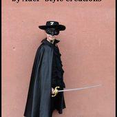 Zorro - Le blog de adelstyledisguise