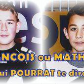 """"""" Qui """"POURRAT"""" te dire ... de Mathieu ou de François, lequel des deux sera Champion ? """" - Le blog de EDUCNAUTE-INFOS"""