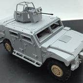 Sherpa Light APC, FS, Scout et carrier au 1/48ème (Master Fighter) -