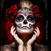 Maquillage HALLOWEEN : Sugar Skull - PARADIS DE MODE