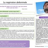 La respiration abdominale - MAEVIE