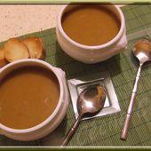 Soupe potiron et champignons... - Mes gâteaux rigolos by Cécile CC
