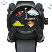RJ X SUPER MARIO BROS / SWISS MADE WATCHES WITH DNA OF FAMOUS LEGENDS