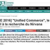 "IRCE Chicago : le ""Unified Commerce"" au premier plan - Retail-distribution by Frank Rosenthal"