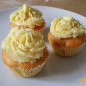 Cupcakes au citron et insert de framboises - Emaution - aventures d'une pâtissière amateur