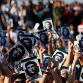 """""""L'exemple immense du Che perdure et se multiplie chaque jour"""", discours de Miguel Diaz-Canel, cérémonie officielle de Cuba"""
