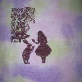 Alice au pays des merveilles # Bothy Threads # étapes 2 et 3 - Le blog de Petites croix et Gourmandises
