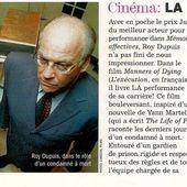 2005/03 - Roy Dupuis au coeur de la peine capitale - ROY DUPUIS EUROPE
