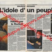 2005/11 - Maurice Richard, l'idole d'un peuple - ROY DUPUIS EUROPE