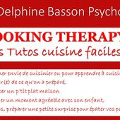 cooking therapy - Delphine Basson Psycho