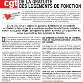 25 Juin les gardiens interpellent le locataire de Matignon - Le blog de Collectif Logement CGT