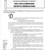 Grand Paris - Seine &amp&#x3B; Oise. Choisir un Président à droite? - Le blog de Marc Jammet, conseiller municipal PCF de Mantes la Jolie