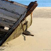 Ria d'Etel, balade entre les épaves du cimetière de bateaux du Magouër - Hélène SF