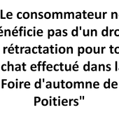 Protection du consommateur - foiredautomnedepoitiers.fr