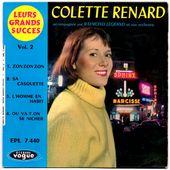 Colette Renard - Leurs grands succès vol 2 - 1958 - tournedix-le-gaulois
