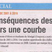 BADOU DIAHAM SUR LA NON-PUBLICATION DES RAPPORTS SUR LE SITE DE L'OFFICE DU BAC.