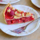 Tourte aux pommes et fraises - Le Coin Cuisine ...