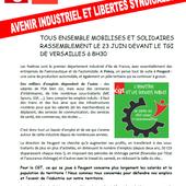 Pas de conquêtes sociales sans libertés syndicales - CGT - Territoriaux Poissy