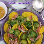 Salade aux choux de Bruxelles et à la betterave jaune - Les petits plats de Béa