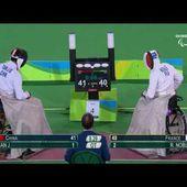 Escrime en fauteuil roulant (épée H) : L'or au bout du suspense pour la France