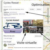 Fiche Google - Visibilité à 360 ° sur le web
