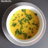 Soupe blé/ carotte/ poireau - MéliMélFlo
