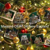 Maison DEPT 56 New England Village - Le Blog de Myriam PS