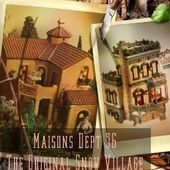 Maisons Dept 56 The Original Snow Village - Le Blog de Myriam PS