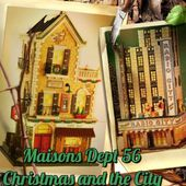Maisons DEPT 56 Christmas in the City - Le Blog de Myriam PS
