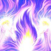 Les 5 Flammes Cosmiques supérieures - L'Ecole Arc En Ciel