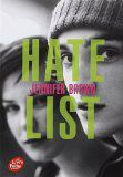Hate list ✒️✒️✒️✒️ Jennifer Brown - Carnet de bord littéraire