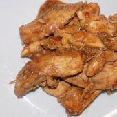 Aiguillettes de poulet à l'ail dukan - La cuisine de Fanie