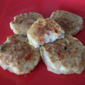 Crab'cakes ou galettes au crabe dukan - La cuisine de Fanie