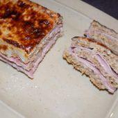 Croc'cake jambon-fromage dukan - La cuisine de Fanie