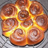 Cinnamons rolls chocolat dukan - La cuisine de Fanie
