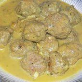 Boulettes au lait de coco dukan - La cuisine de Fanie