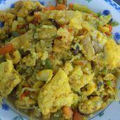 Paëlla dukan - La cuisine de Fanie