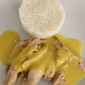 Poule au curry - La cuisine de Fanie