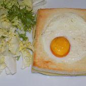Croque-madame - La cuisine de Fanie