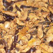 Poélée asiatique aux champignons noirs dukan - La cuisine de Fanie