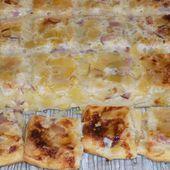 Quiche au tofu poireaux/bacon dukan - La cuisine de Fanie