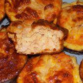Bouchées fondantes au saumon dukan - La cuisine de Fanie