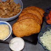 Bokits kebab - La cuisine de Fanie