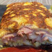 Omelette jambon vache qui rit dukan - La cuisine de Fanie