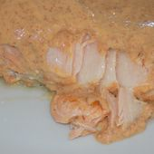Saumon sauce crémeuse au chorizo dukan - La cuisine de Fanie