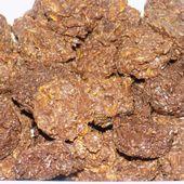 Roses des sables chocolat au lait/noix de coco - La cuisine de Fanie