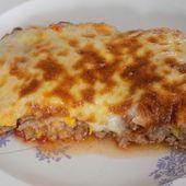 Lasagnes de courgettes dukan - La cuisine de Fanie
